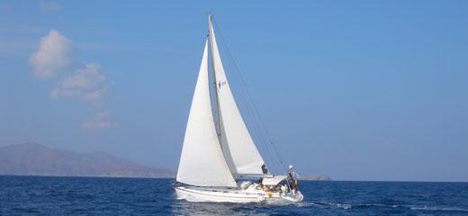 Sailing Greece