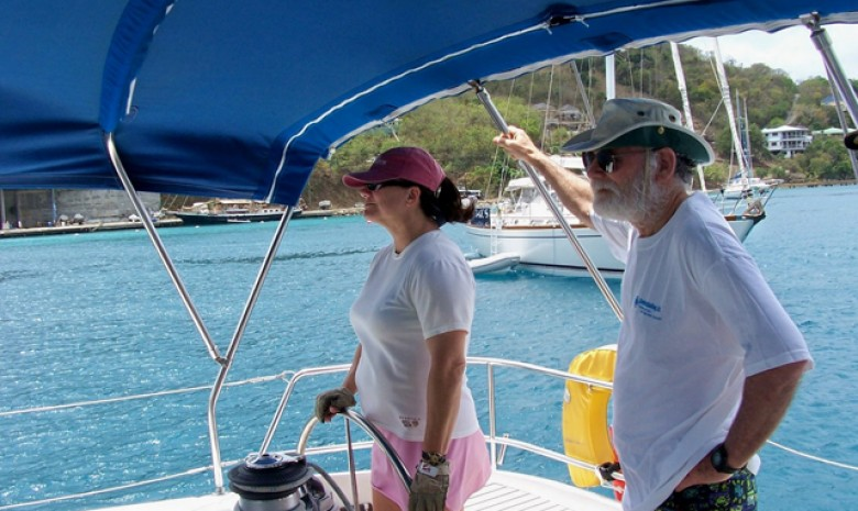 Captain Valerie, At The Helm