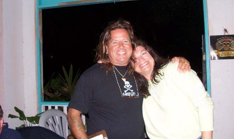 Vinny At Corsairs On Jost Van Dyke