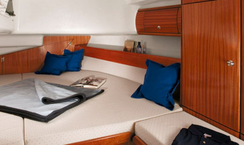 Maya's Aft Cabin