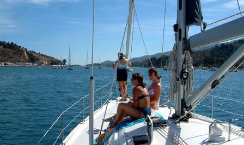 Sailing In Poros