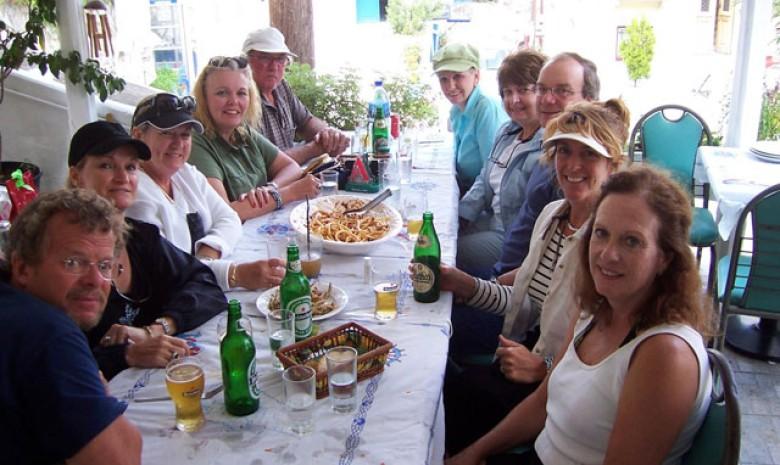 The Group At Ronaldos Kea