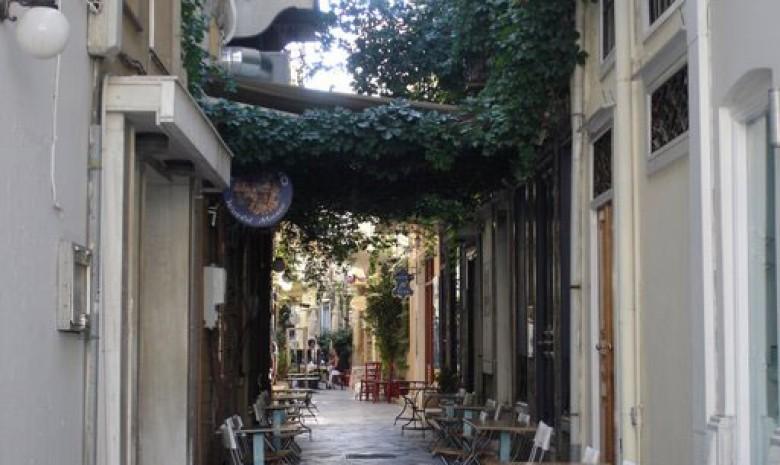 Street In Ermopouli